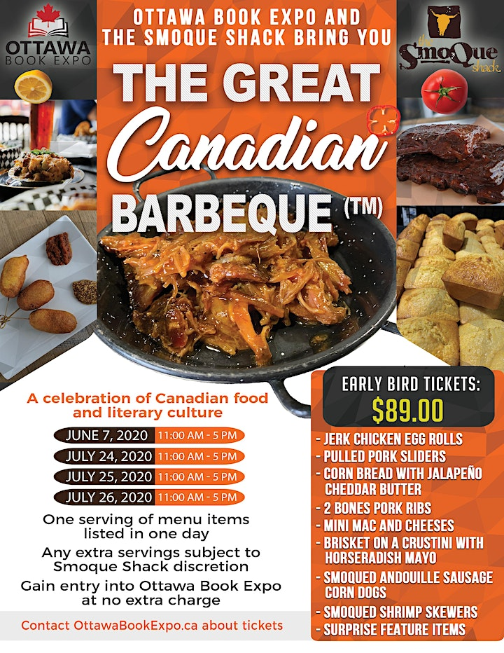 Ottawa Book Expo  - Great Canadian Barbeque - Day 2 image
