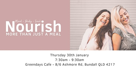 Nourish - Womens Breakfast Event tickets