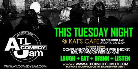 ATL Comedy Jam @ Kats Cafe tickets