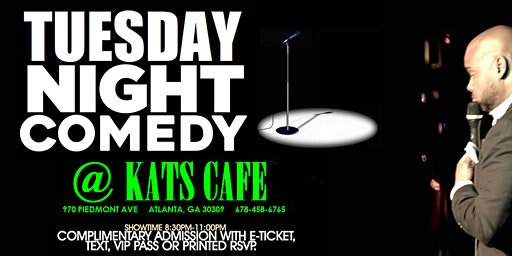 Tuesday Night Comedy in Midtown