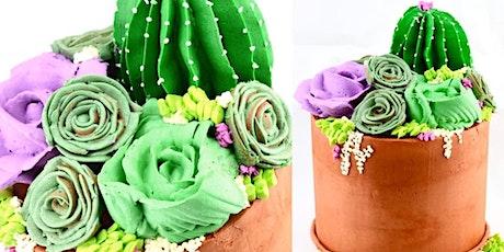 Buttercream Garden Themed Cake Class tickets