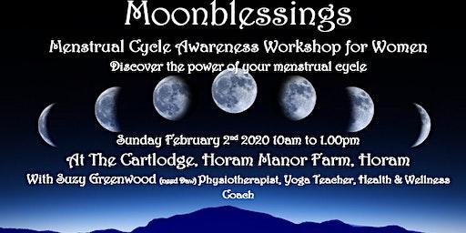 Moonblessings - Menstrual Cycle Awareness Workshop for women.