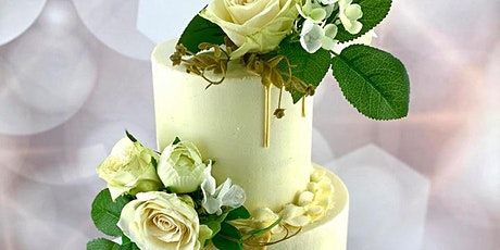 Two Tier Buttercream Floral Drip Cake Class tickets