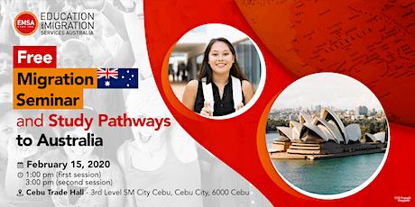 FREE Migration Seminar and Study Pathways to Australia tickets
