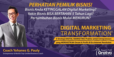 TANGERANG - DIGITAL MARKETING TRANSFORMATION tickets