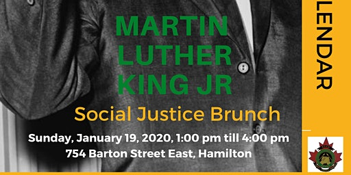 3rd Annual Martin Luther King Jr Social Justice Brunch