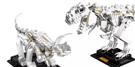 Build Your Own LEGO Dinosaur Fossil Workshop tickets