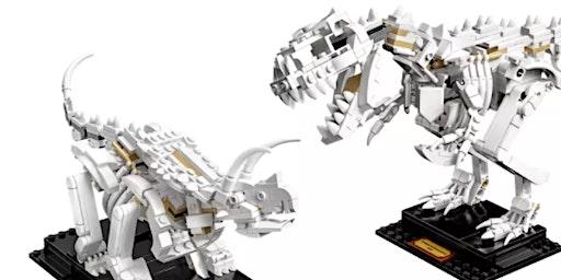 Build Your Own LEGO Dinosaur Fossil Workshop