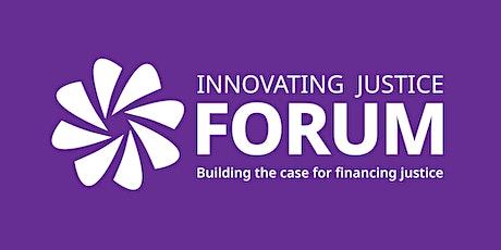 Innovating Justice Forum tickets