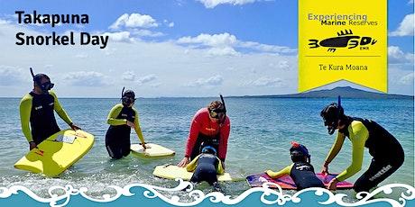Takapuna Snorkel Day tickets