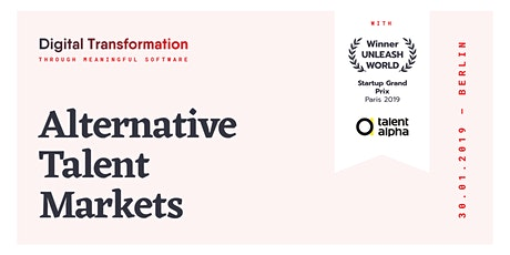 Alternative Talent Markets tickets
