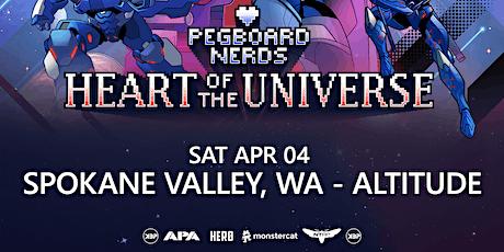 Pegboard Nerds Heart Of The Universe Tour - Spokane Valley, WA - Altitude tickets
