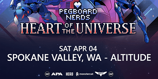 Pegboard Nerds Heart Of The Universe Tour - Spokane Valley, WA - Altitude