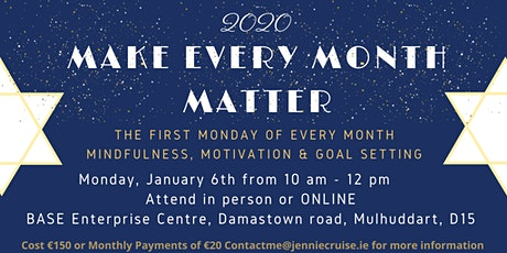 Make Every Month Matter tickets