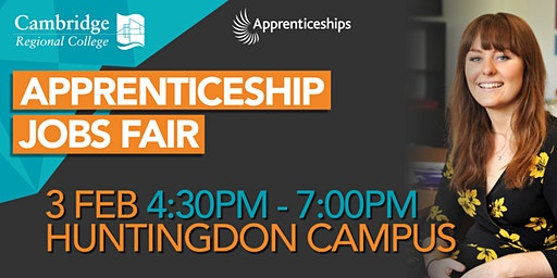 Apprenticeship Jobs Fair Huntingdon