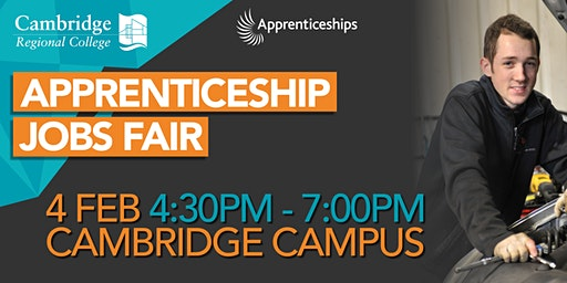 Apprenticeship Jobs Fair Cambridge