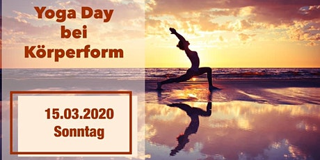 Yoga Day bei Körperform  Tickets
