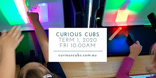 Curious Cubs for 3-5yrs: Friday 10:00am session (Term 1, 5 wks)