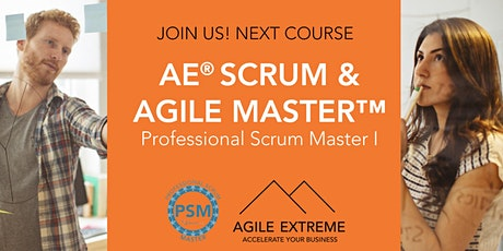 AE® Scrum & Agile Master™ - Professional Scrum Master I tickets
