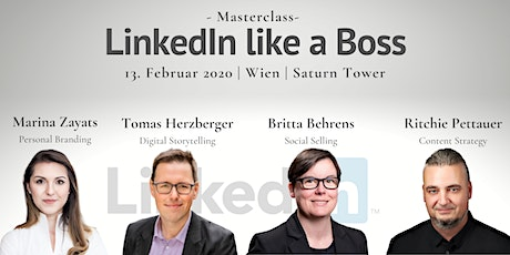 LinkedIn like a Boss: Reputation | Netzwerken | Kundengewinnung   Tickets