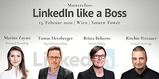 LinkedIn like a Boss: Reputation | Netzwerken | Kundengewinnung