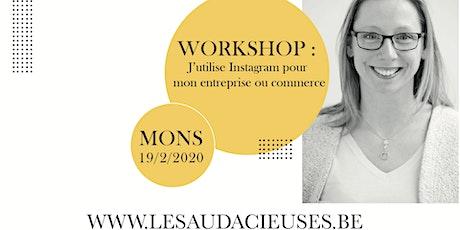 Workshop: j'utilise Instagram pour mon entreprise ou commerce billets
