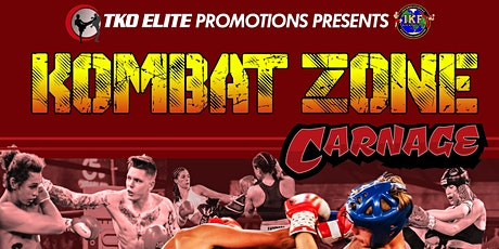 KOMBAT ZONE - Carnage tickets