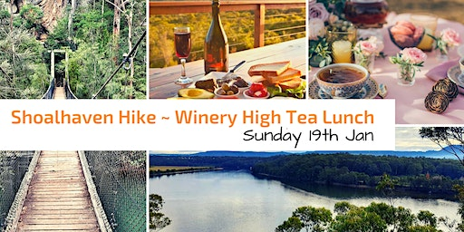 Shoalhaven Hike & Gourmet Winery High Tea Lunch // Sun 19th Jan