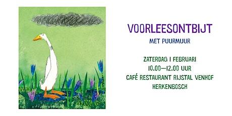 Voorleesontbijt Herkenbosch tickets