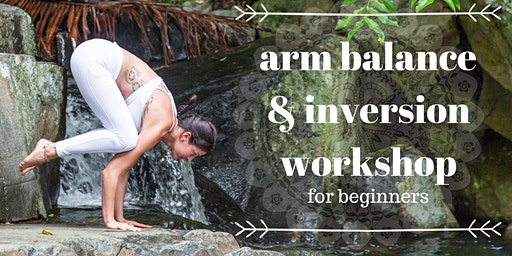 Arm balance & Inversion for beginner