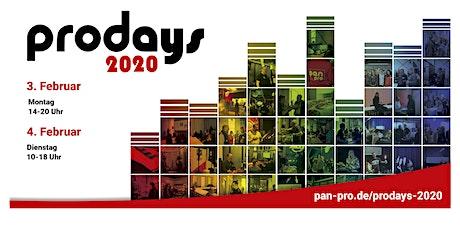 prodays 2020 Tickets