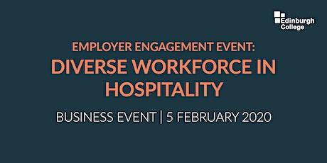 Diverse Workforce in Hospitality  biglietti
