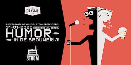 Humor in de Brouwerij tickets