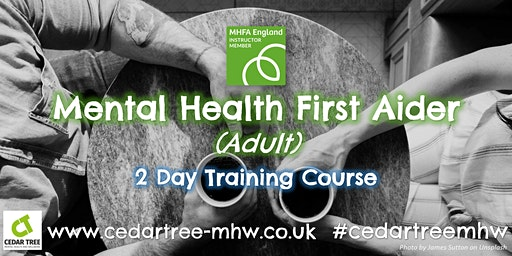 Mental Health First Aid (Adult) - 2 Day course