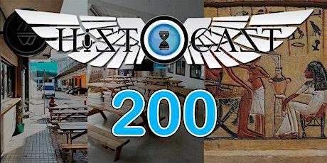 Celebración HistoCast 200 entradas