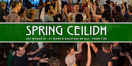 Spring Ceilidh tickets
