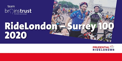 Prudential RideLondon Surrey 100 - free charity place