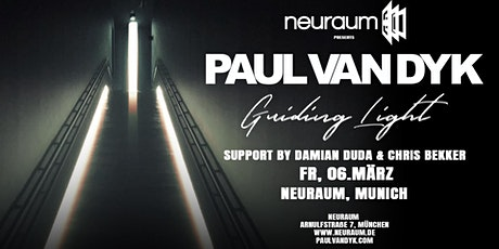 Paul van Dyk in Munich – Guiding Light Tour @ neuraum Club Tickets