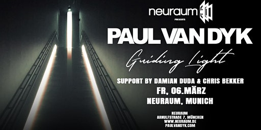 Paul van Dyk in Munich – Guiding Light Tour @ neuraum Club