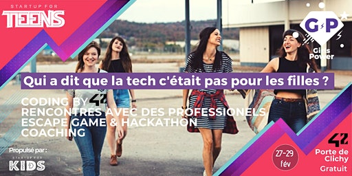 Startup For Teens - Édition spéciale Girls Power