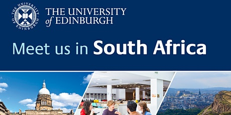 University of Edinburgh Information Session: Johannesburg tickets