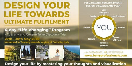 Design Your Life Towards Ultimate fulfillment tickets