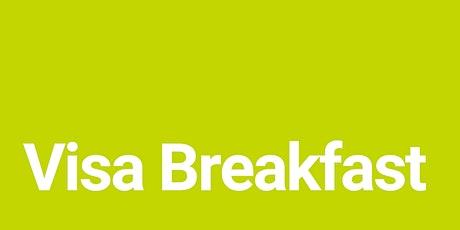 Visa Endorsees Breakfast tickets