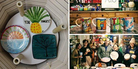 Make your own Painted Ceramics (with BYOB!)  tickets