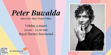Peter Buwalda tickets