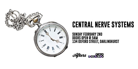 Afters Pres: Central Nerve Systems tickets