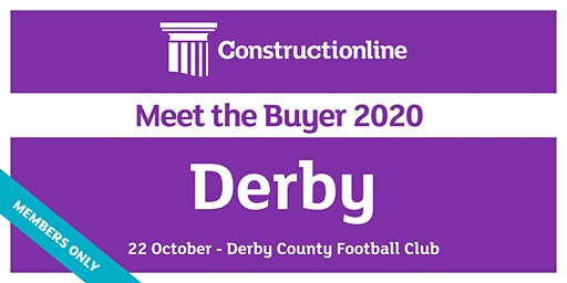 Derby Constructionline Meet the Buyer 2020
