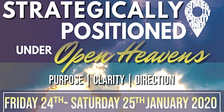 Prophetic Shift 2020 - Friday 24th / Saturday 25th January 2020 tickets
