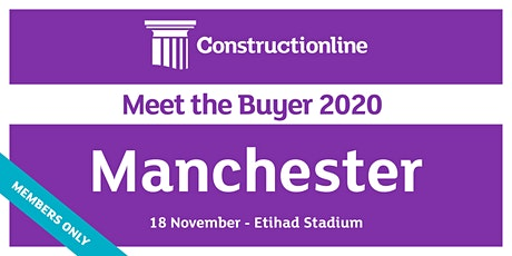 Manchester Constructionline Meet the Buyer 2020 tickets