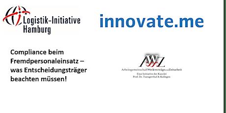 innovate.me: Compliance beim Fremdpersonaleinsatz Tickets